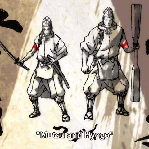 Mutsu and Hyogo episode 22 endcard