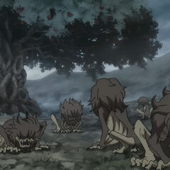Group of Ghouls produced from Ayakashigi.