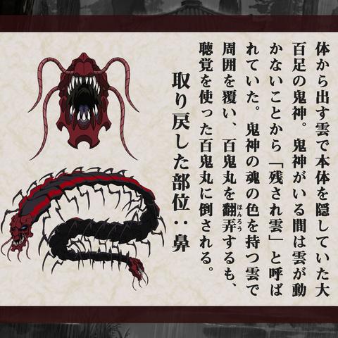 Nokosaregumo anime design