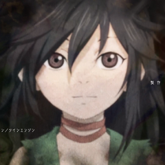 Dororo Long hair at the ending 2.