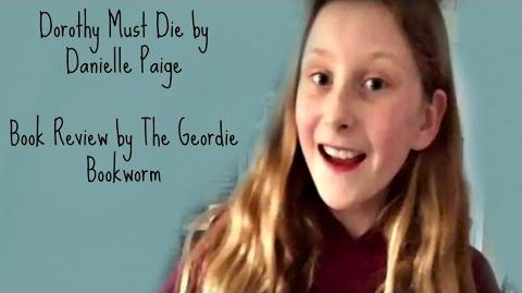 DOROTHY MUST DIE BY DANIELLE PAIGE Book Review by The Geordie Bookworm