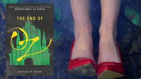 THE END OF OZ by Danielle Paige Official Book Trailer Dorothy Must Die Series