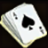 Dos obj jeu de cartes