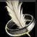 Dos obj anneau en plume
