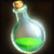 Dos obj flasque de poison