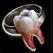 Dos obj anneau en dent affûtée