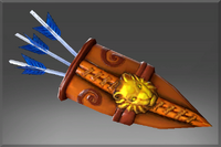 Lion Quiver of the Moon Rider