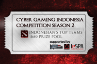 Cyber Gaming Indonesia Competition Season 2