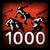 Osiągnięcie - Ostatnie trafienie na 1000 creepach