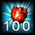 Osiągnięcie - Podnieś 100 Run