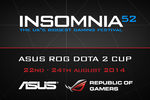 ASUS ROG Insomnia52 Dota 2 Cup