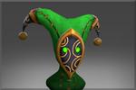 Wandering Harlequin's Crest (Zielony)