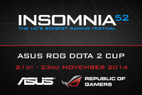 ASUS ROG Insomnia53 Dota 2 Cup