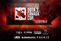 Dota 2 Canada Cup Season 6 Open Qualifiers