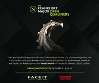 Frankfurt Major 2015 Open Qualifiers