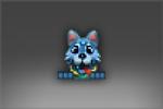 Aurora Wolf Pup of Icewrack Emoticon