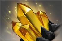 Gold Spectator Gem