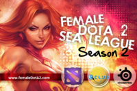 Female Dota 2 Southeast Asia League Season 2