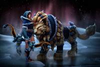 Snowstorm Huntress Set