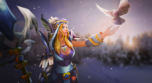 Baner - Frozen Feather Set