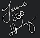 James '2GD' Harding (Autograf)