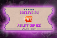 Dota2VO Ability Cup 2 Ticket