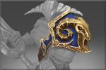 Armature of the Belligerent Ram Shoulder Blue