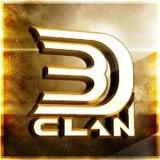 3D!Clan - logo