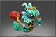 Little Green Jade Dragon