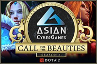 Asian Cyber Games Call for the Beauties
