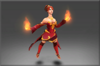 The Garments of the Charred Bloodline Set
