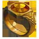Ring yellow knight