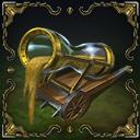 Siege glass cannon