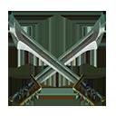 Crossed swords 1