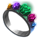 Crystal seers ring