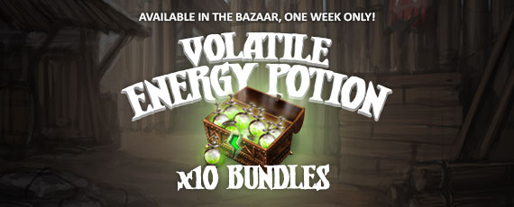 Scroller volatile energy potion bundle