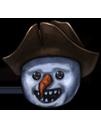 Helm snowman happy