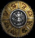 Shield yellow knight