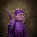 Violet warrior