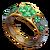 Ring four leaf clover