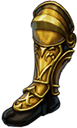 Boots yellow knight