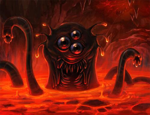 Magma horror