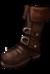 Boots studdedleather