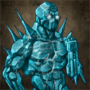 Empowered ice golem troop