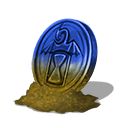 Collection infinite dawn coin 4 blue