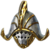 Gilded Colossus Head