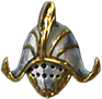 Helm gilded colossus