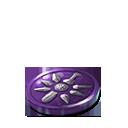 Crystal dawn coin purple