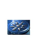 Crystal dawn coin blue