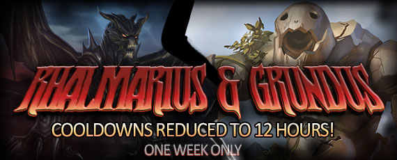 Scroller rhalmarius grundus cooldowns reduced